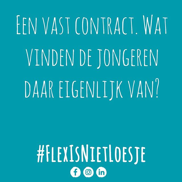 Flex is niet Loesje